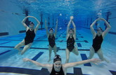 OSU Women's Water Polo Players