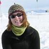 Liz Miller in Antarctica
