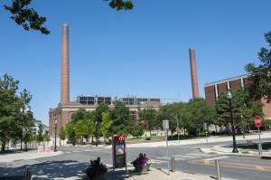 McCracken Power Plant external view