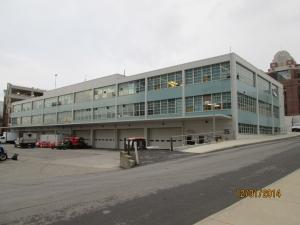 Maintenance Building external view
