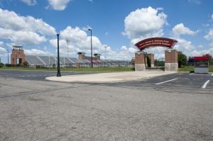 Jesse Owens Memorial Stadium external view