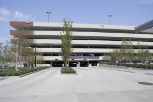 Parking Garage - Cannon Dr N and S external view