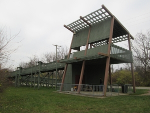Sandefur Wetland Pavilion external view