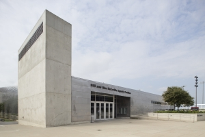 McCorkle Aquatic Pavilion external view
