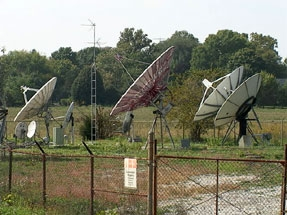 Satellite Communications Facility external view