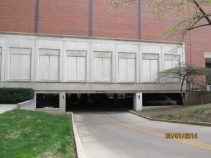 Parking Garage - Biological Science Building external view