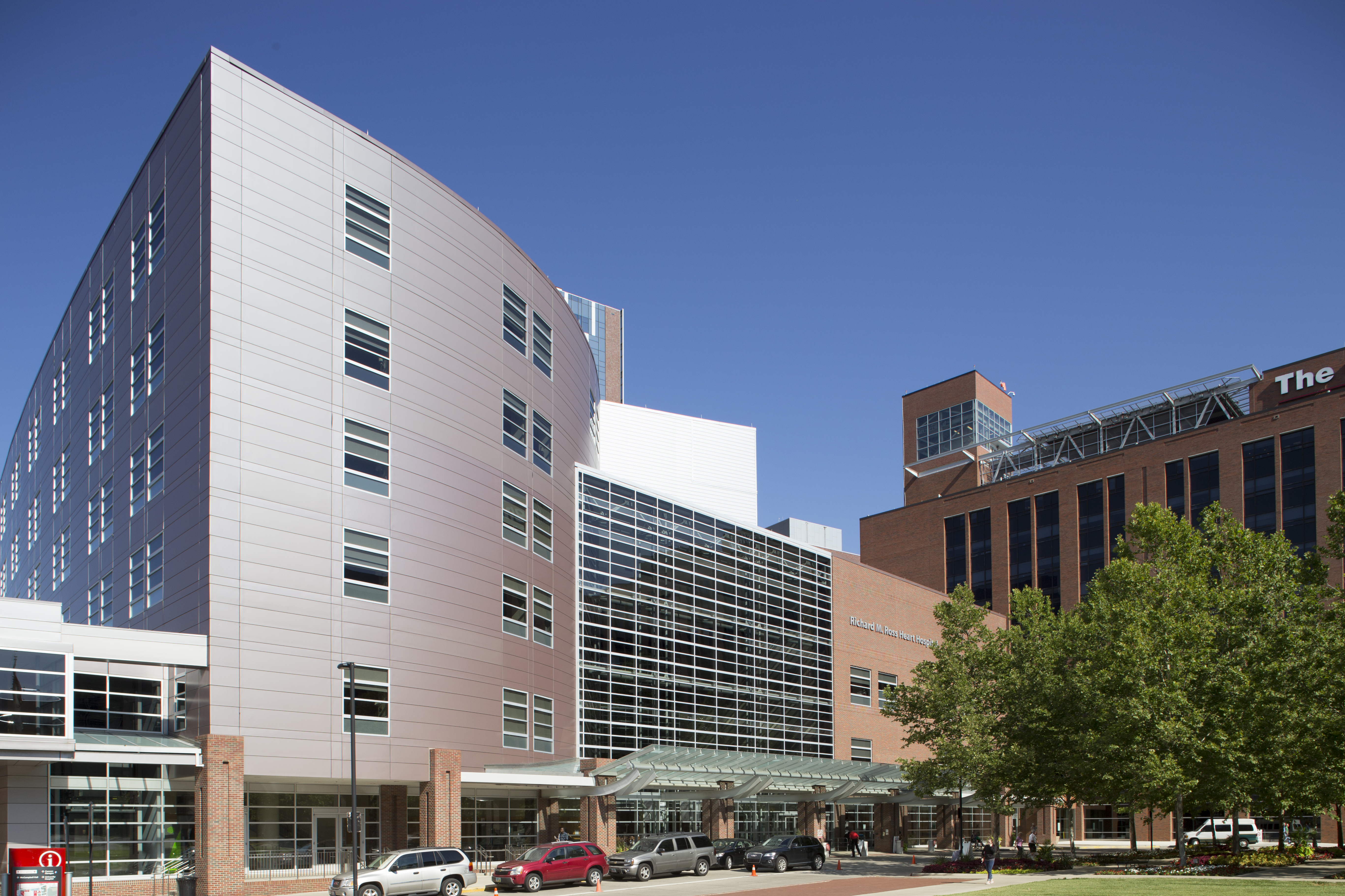 Ross Heart Hospital Campus Map The Ohio State University