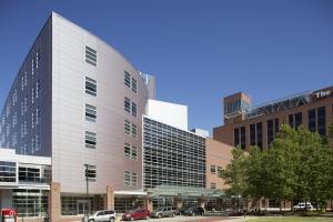 Ross Heart Hospital external view