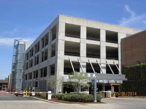 Parking Garage - Gateway E external view