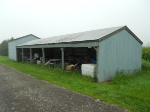 Waterman - Agronomy Pole Barn external view