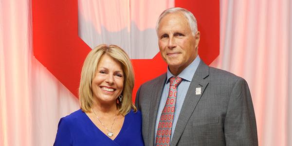 Corrine and Bob Frick