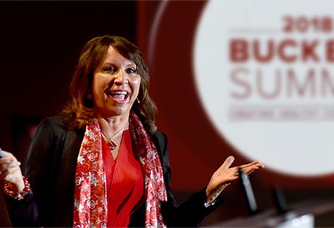 Bernadette Melnyk speaking at Buckeye Summit