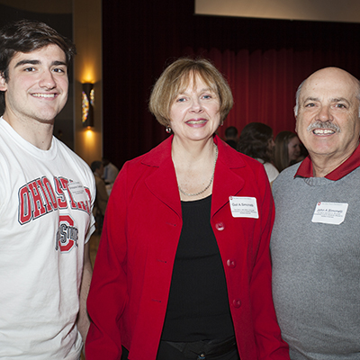 Mr. and Mrs. Simonetti at the 2014 Scholarship Reception