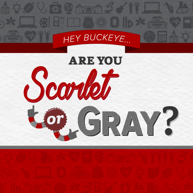 Scarlet or Gray?